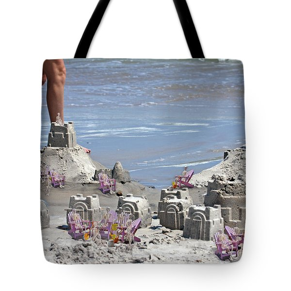 Castle Kingdom  Tote Bag by Betsy C  Knapp