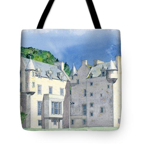 Castle Menzies Tote Bag by David Herbert