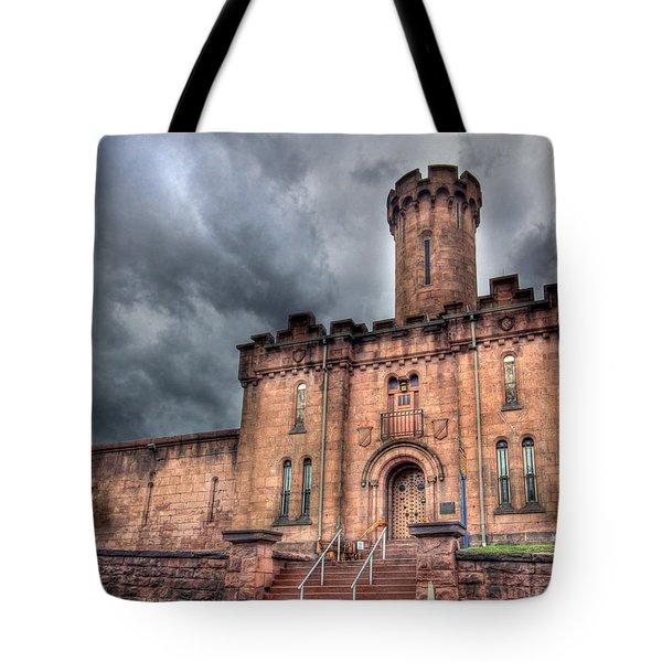 Castle of Solitude Tote Bag by Lori Deiter