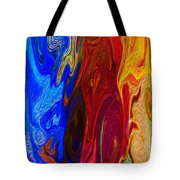 Castles Made Of Sand Tote Bag by Omaste Witkowski