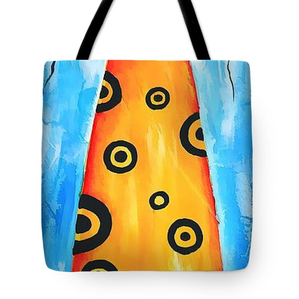 Cat 649 - marucii Tote Bag by Marek Lutek