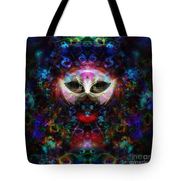 Cat Carnival Tote Bag by Klara Acel