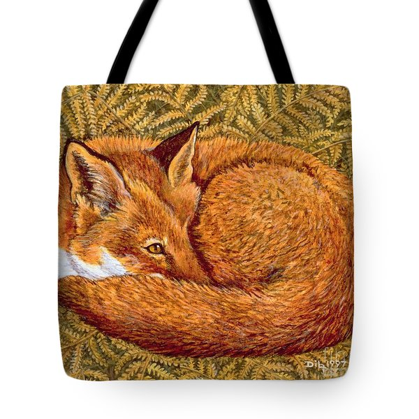 Cat Napping Tote Bag by Ditz