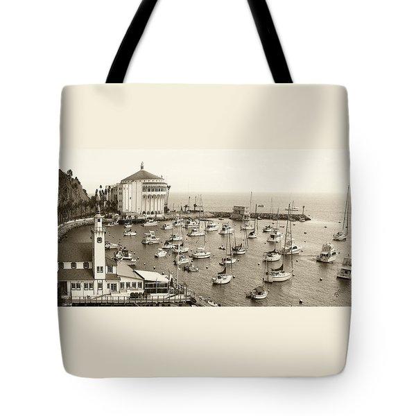 Catalina Island. Avalon Tote Bag by Ben and Raisa Gertsberg