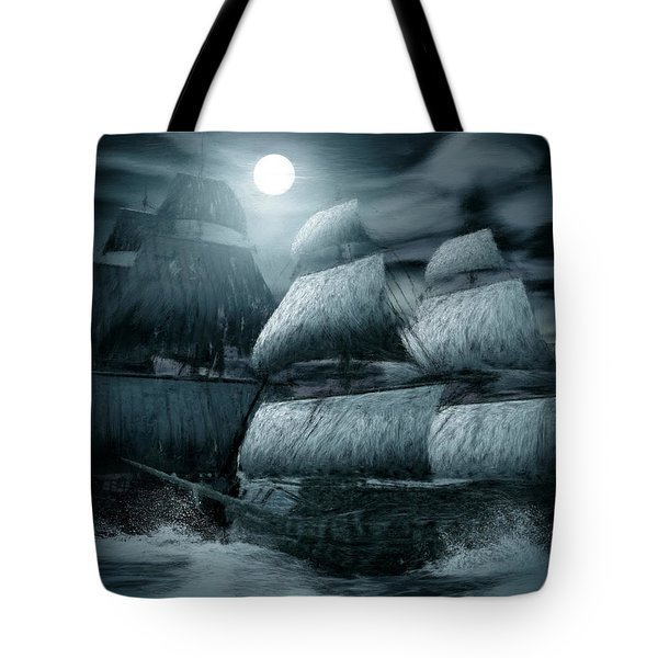 Catastrophic Collision  Tote Bag by Lourry Legarde