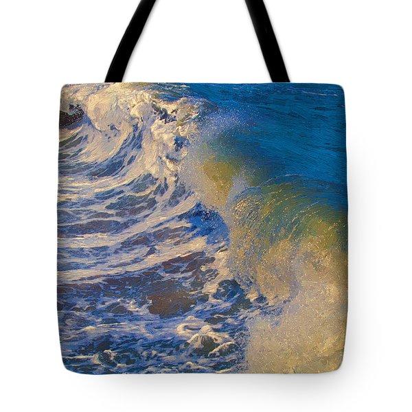 Catch A Wave Tote Bag by John Haldane