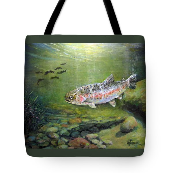 Catch It Tote Bag by Donna Tucker
