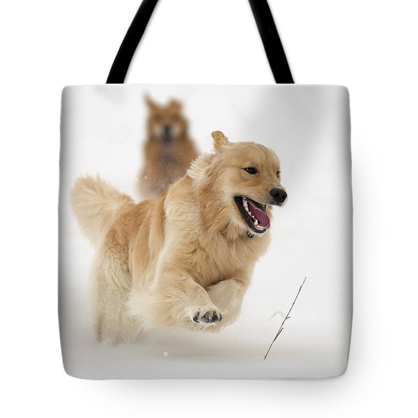 Catch Me If You Can Tote Bag by Vic Harris
