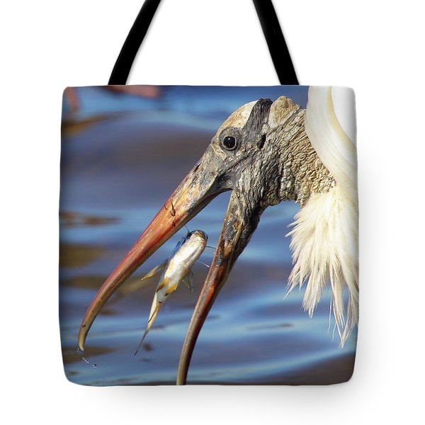 Catch Of The Day Tote Bag by Bruce J Robinson