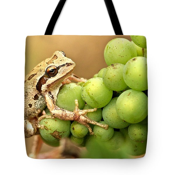 Catching a ride on the pinot Tote Bag by Jean Noren