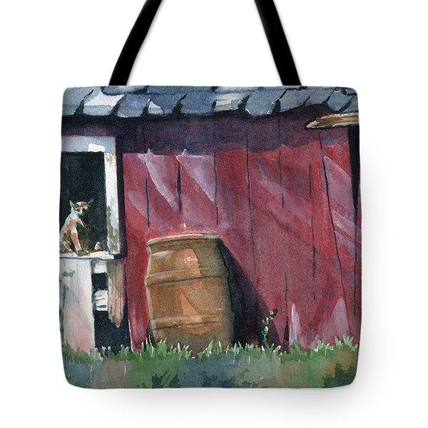 Catching Some Rays Tote Bag by Marsha Elliott