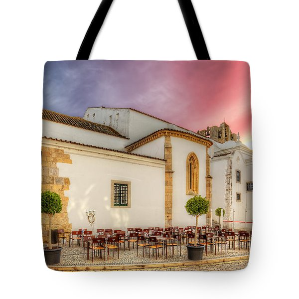 Cathedral Cafe Tote Bag by English Landscapes