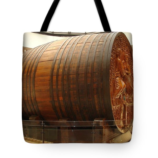 Cathedral Of Champagne Tote Bag by Jeff at JSJ Photography