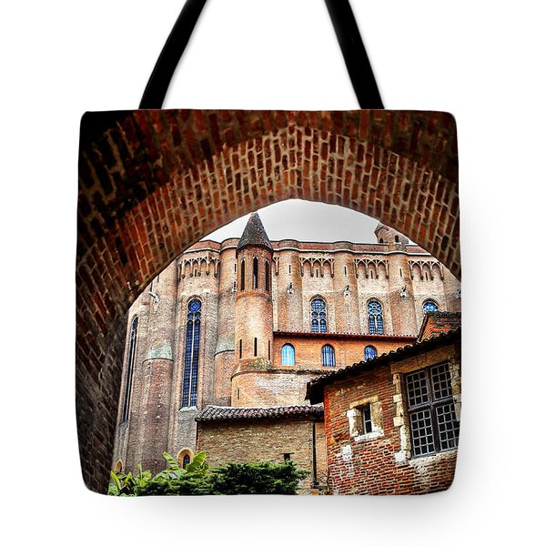 Cathedral of Ste-Cecile in Albi France Tote Bag by Elena Elisseeva