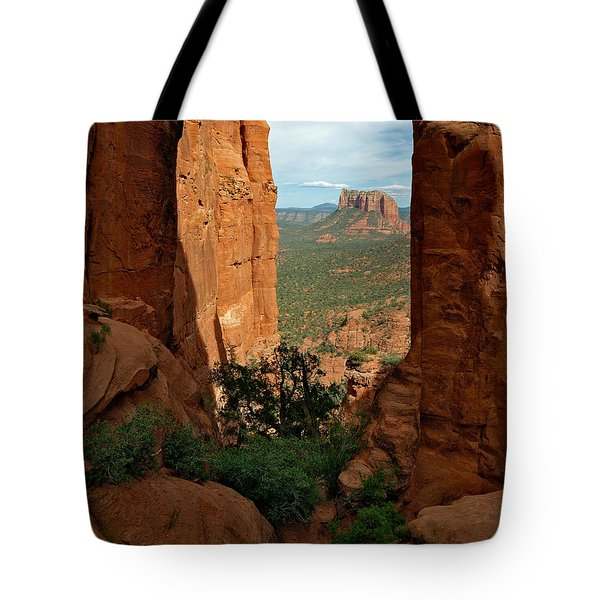 Cathedral Rock 05-012 Tote Bag by Scott McAllister