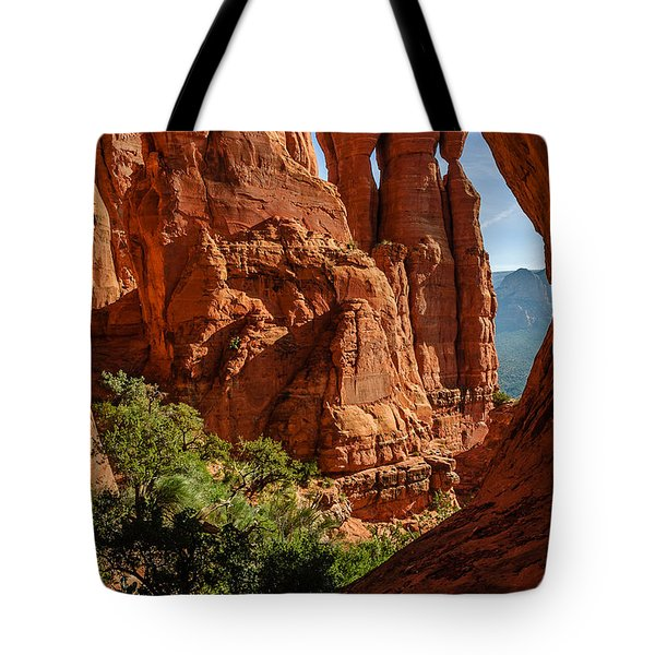 Cathedral Rock 06-124 Tote Bag by Scott McAllister