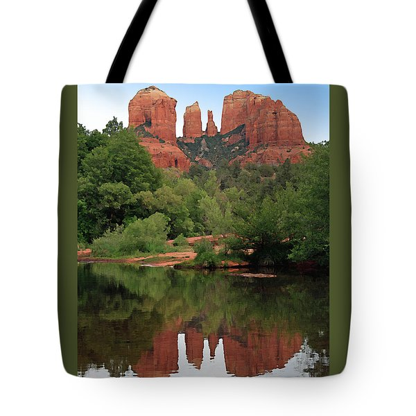 Cathedral Rock 1 Tote Bag by Ellen Henneke