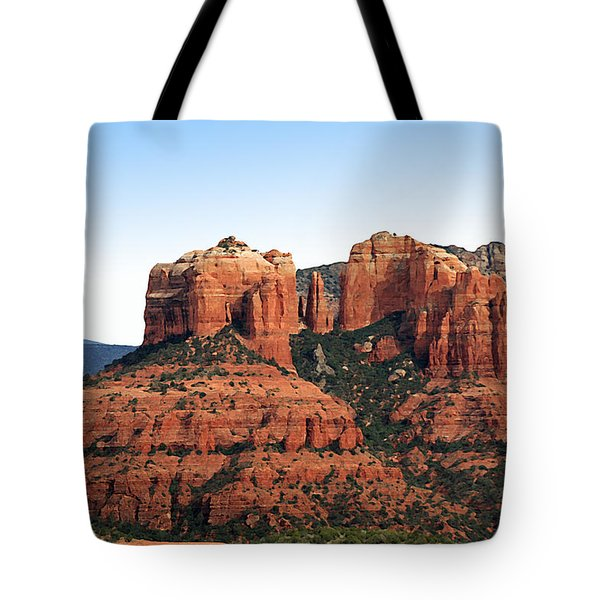 Cathedral Rock 2 Tote Bag by Ellen Henneke