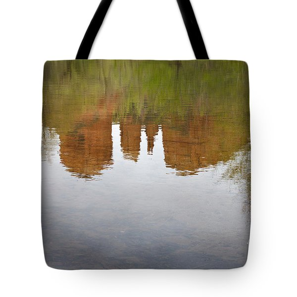 Cathedral Rock Reflections Tote Bag by Dave Gordon