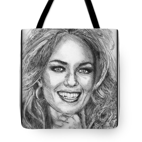 Catherine Bach in 1979 Tote Bag by J McCombie