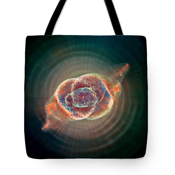 Cats Eye Nebula Tote Bag by Benjamin Yeager