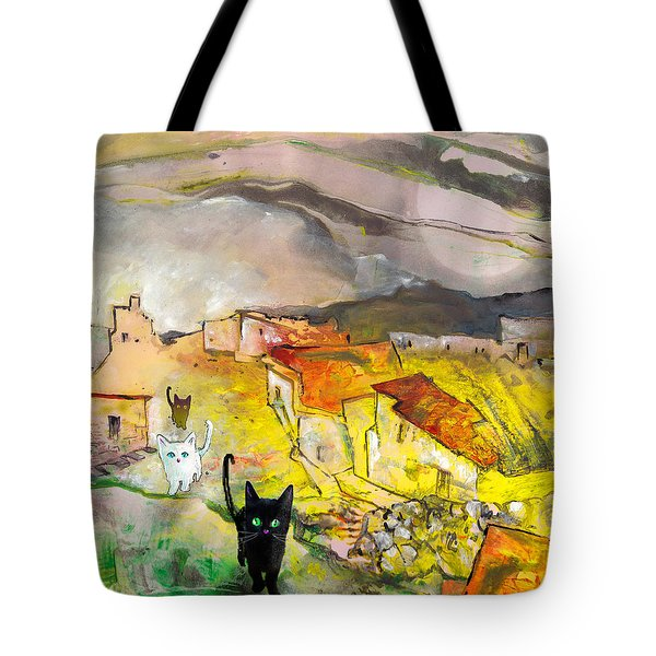 Catwalk Tote Bag by Miki De Goodaboom