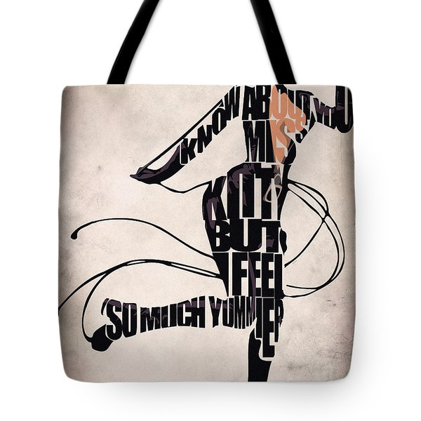 Catwoman - Michelle Pfeiffer Tote Bag by Ayse Deniz