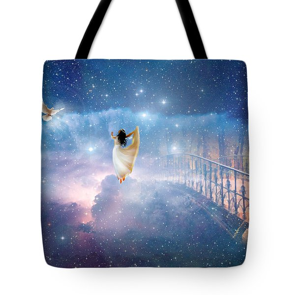 Caught Up Tote Bag by Dolores Develde