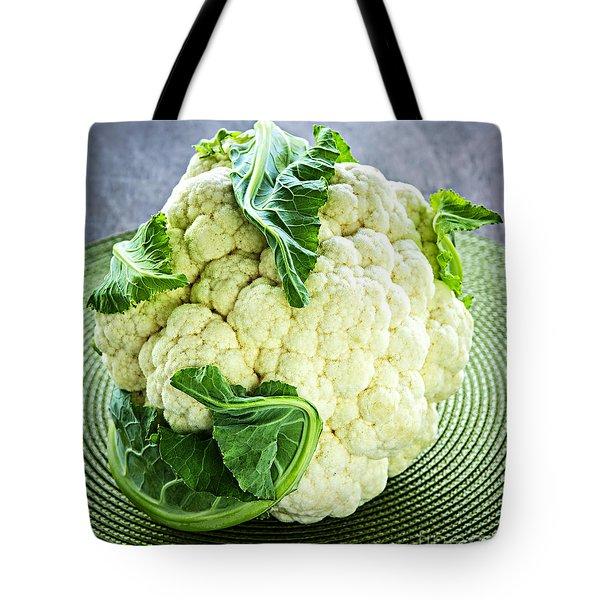 Cauliflower Tote Bag by Elena Elisseeva