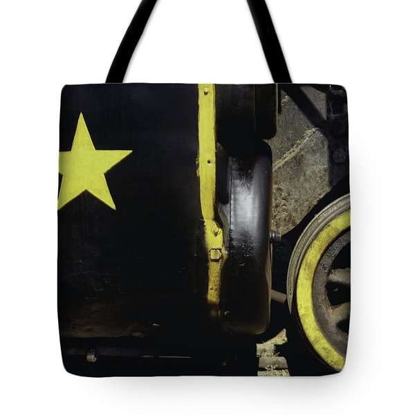 Cause Out On The Edge Of Darkness There Rides A Peace Train.. Tote Bag by A Rey