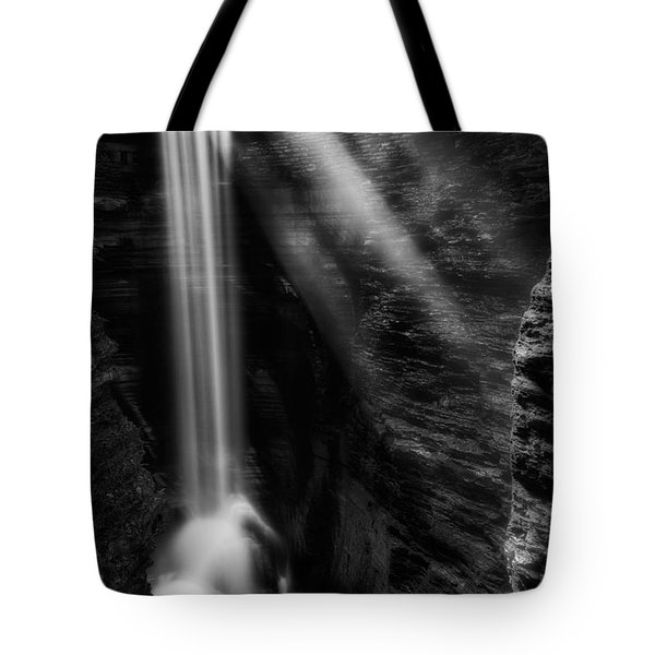 Cavern Cascade Tote Bag by Bill  Wakeley