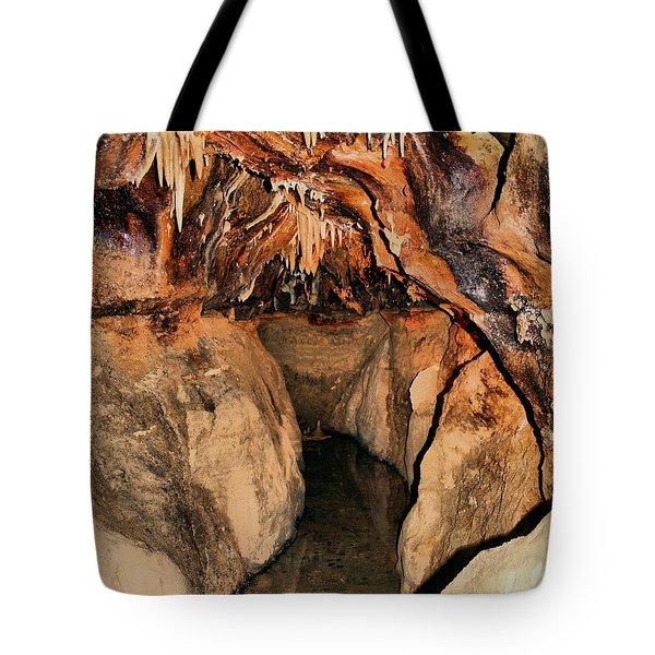 Cavern Path Tote Bag by Dan Sproul