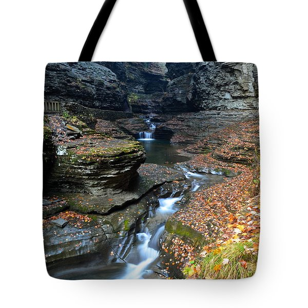 Cavernous Walls Tote Bag by Frozen in Time Fine Art Photography