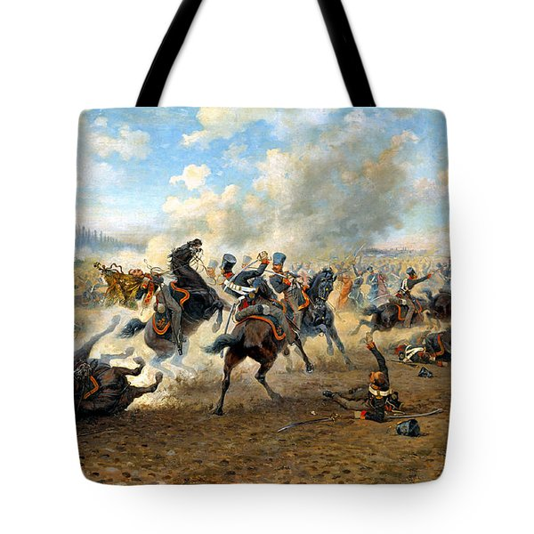 Cavlary Battle Tote Bag by Victor Mazurovskii