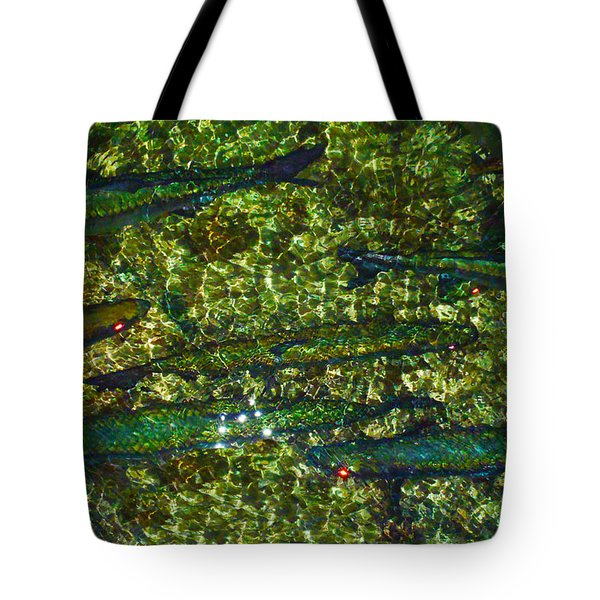Cayman Tarpon Tote Bag by Carey Chen