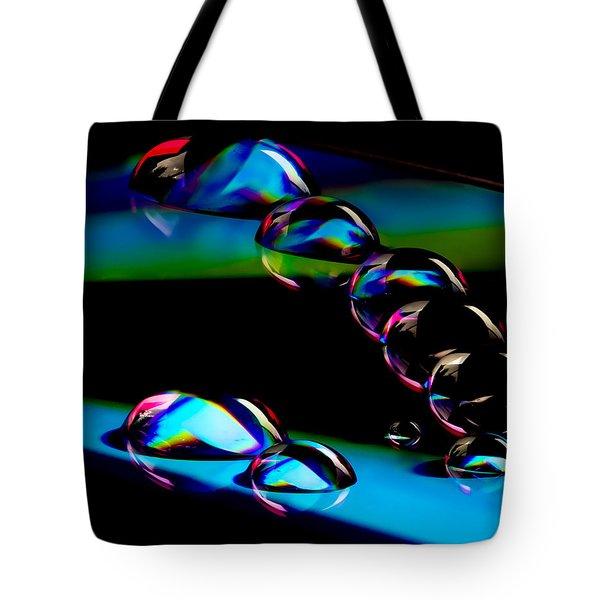 Cd Lineup Tote Bag by Jean Noren
