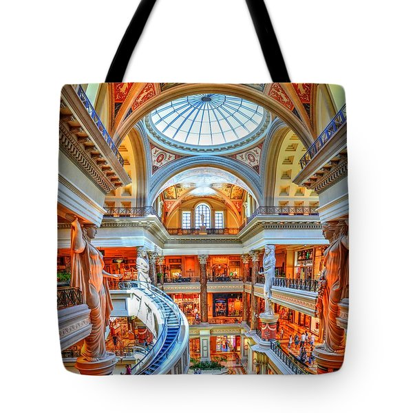 Ceasar's New Palace Tote Bag by Paul Mashburn