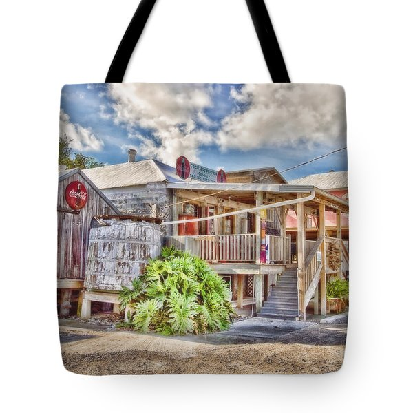 Cecil's Grocery Tote Bag by Scott Pellegrin