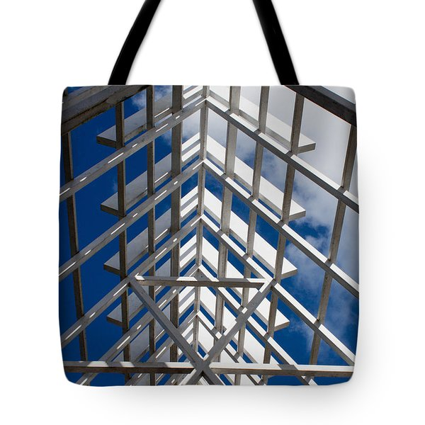Ceiling Beam Tote Bag by Thomas Marchessault