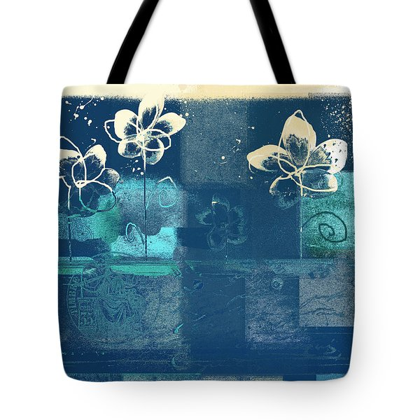 Celebrate - Blue3tx2 Tote Bag by Variance Collections