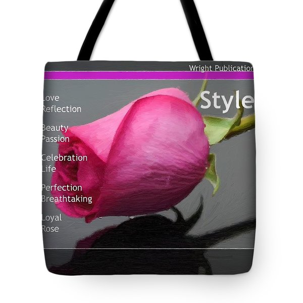 Celebrate The Beauty Of Life Tote Bag by Liane Wright