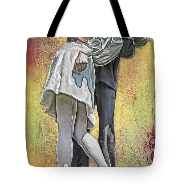 Celebration Embrace Tote Bag by Tom Gari Gallery-Three-Photography