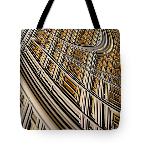 Celestial Harp Tote Bag by John Edwards