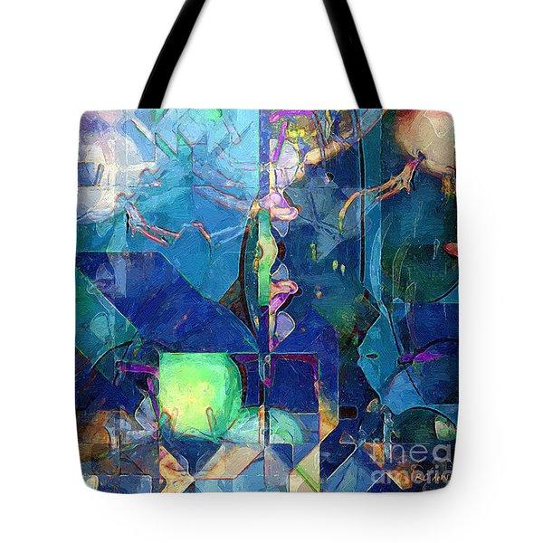 Celestial Sea Tote Bag by RC deWinter