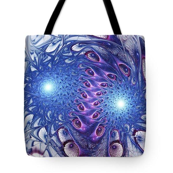 Cell Division Tote Bag by Anastasiya Malakhova
