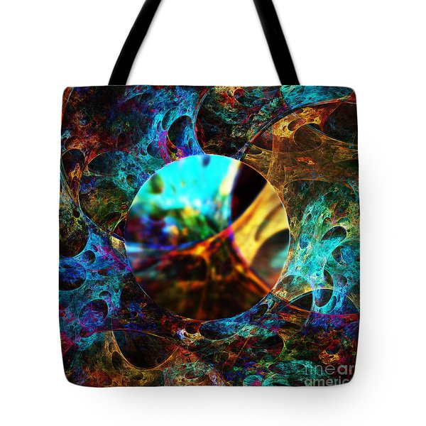 Cell Research Tote Bag by Klara Acel