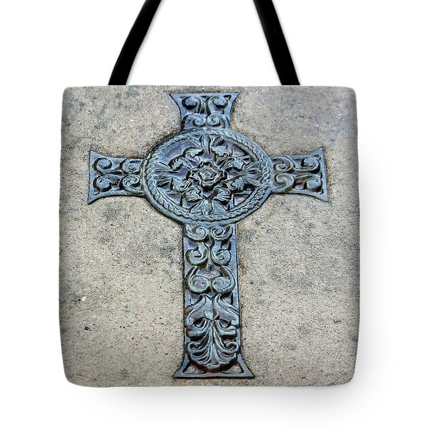 Celtic Cross IIi Tote Bag by Suzanne Gaff