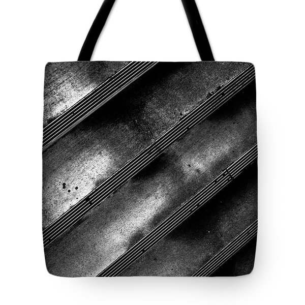 Cement Steps Number Two Tote Bag by Bob Orsillo