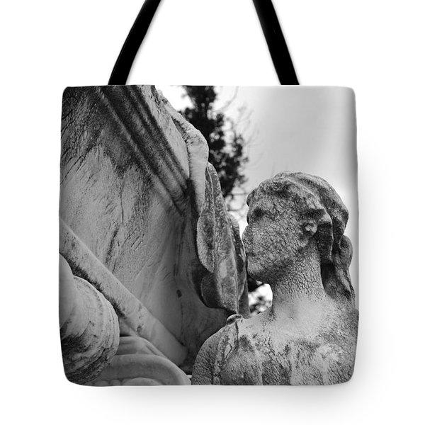 Cemetery Gentlewoman Tote Bag by Jennifer Lyon