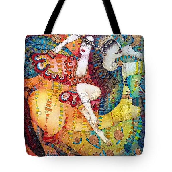 Centaur In Love Tote Bag by Albena Vatcheva